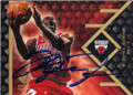 MICHAEL JORDAN CHICAGO BULLS AUTOGRAPHED BASKETBALL CARD #61314A