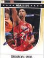 TIM DUNCAN SAN ANTONIO SPURS AUTOGRAPHED BASKETBALL CARD #61714J