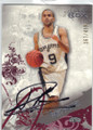 TONY PARKER SAN ANTONIO SPURS AUTOGRAPHED & NUMBERED BASKETBALL CARD #61814C