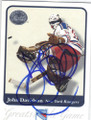 JOHN DAVIDSON NEW YORK RANGERS AUTOGRAPHED HOCKEY CARD #62714D