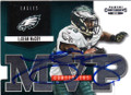 LeSEAN McCOY PHILADELPHIA EAGLES AUTOGRAPHED FOOTBALL CARD #63014D