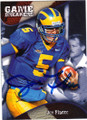 JOE FLACCO UNIVERSITY OF DELAWARE AUTOGRAPHED ROOKIE FOOTBALL CARD #70714i