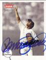 RYNE SANDBERG CHICAGO CUBS AUTOGRAPHED BASEBALL CARD #70714J