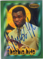 HERBIE HIDE AUTOGRAPHED BOXING CARD #72214F
