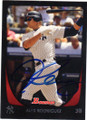 ALEX RODRIGUEZ NEW YORK YANKEES AUTOGRAPHED BASEBALL CARD #72314B