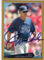 JOE MADDON TAMPA BAY RAYS AUTOGRAPHED & NUMERED BASEBALL CARD #72314i