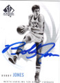 BOBBY JONES NORTH CAROLINA TAR HEELS AUTOGRAPHED BASKETBALL CARD #72514K