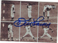 DON LARSEN NEW YORK YANKEES AUTOGRAPHED BASEBALL CARD #72914C