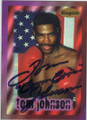TOM JOHNSON AUTOGRAPHED BOXING CARD #72914J