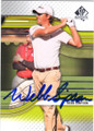 WEBB SIMPSON AUTOGRAPHED GOLF CARD #73014C