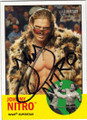 JOHNNY NITRO AUTOGRAPHED WRESTLING CARD #80214B