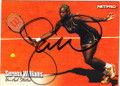 SERENA WILLIAMS AUTOGRAPHED TENNIS CARD #80214D