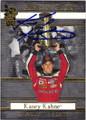 KASEY KAHNE AUTOGRAPHED NASCAR CARD #80214E