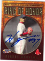 HIDEKI OKAJIMA BOSTON RED SOX AUTOGRAPHED BASEBALL CARD #80214G