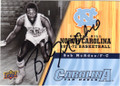 BOB McADOO NORTH CAROLINA TAR HEELS AUTOGRAPHED BASKETBALL CARD #80614J