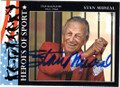 STAN MUSIAL ST LOUIS CARDINALS AUTOGRAPHED BASEBALL CARD #80814N