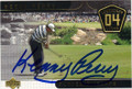 KENNY PERRY AUTOGRAPHED GOLF CARD #81114J