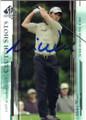 MIKE WEIR AUTOGRAPHED GOLF CARD #81414J