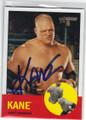 KANE AUTOGRAPHED WRESTLING CARD #81414L