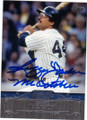 REGGIE JACKSON NEW YORK YANKEES AUTOGRAPHED BASEBALL CARD #81914B