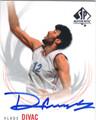VLADE DIVAC FIBA YUGOSLAVIA AUTOGRAPHED BASKETBALL CARD #82314C