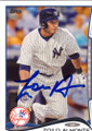 ZOILO ALMONTE NEW YORK YANKEES AUTOGRAPHED BASEBALL CARD #82314F