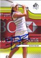 BEATRIZ RECARI AUTOGRAPHED TENNIS CARD #90514D