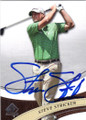 STEVE STRICKER AUTOGRAPHED GOLF CARD #92714G
