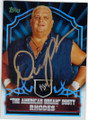 DUSTY RHODES AUTOGRAPHED WRESTLING CARD #92714N