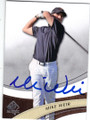 MIKE WEIR AUTOGRAPHED GOLF CARD #100614B