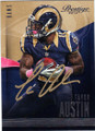 TAVON AUSTIN ST LOUIS RAMS AUTOGRAPHED FOOTBALL CARD #101314L