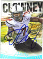 JADEVEON CLOWNEY UNIVERSITY OF SOUTH CAROLINA AUTOGRAPHED ROOKIE FOOTBALL CARD #101414L