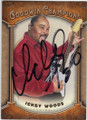 ICKEY WOODS UNLV AUTOGRAPHED FOOTBALL CARD #101514G