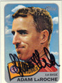 ADAM LaROCHE WASHINGTON NATIONALS AUTOGRAPHED BASEBALL CARD #101514J