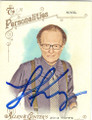 LARRY KING AUTOGRAPHED CARD #101614F