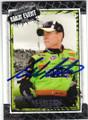 MARK MARTIN AUTOGRAPHED NASCAR CARD #101814D