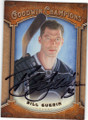 BILL GUERIN AUTOGRAPHED HOCKEY CARD #102214i