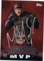 MVP MONTEL VONTAVIOUS PORTER AUTOGRAPHED WRESTLING CARD #102314F