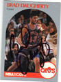 BRAD DAUGHERTY CLEVELAND CAVALIERS AUTOGRAPHED BASKETBALL CARD #102314L