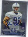 BJOERN WERNER INDIANAPOLIS COLTS AUTOGRAPHED ROOKIE FOOTBALL CARD #102414L