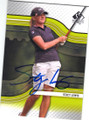 STACY LEWIS AUTOGRAPHED GOLF CARD #102814G