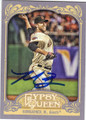 MADISON BUMGARNER SAN FRANCISCO GIANTS AUTOGRAPHED BASEBALL CARD #110414E