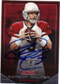 CARSON PALMER ARIZONA CARDINALS AUTOGRAPHED FOOTBALL CARD #110414F