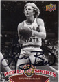 LARRY BIRD INDIANA STATE SYCAMORES AUTOGRAPHED BASKETBALL CARD #110514J