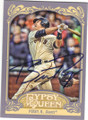 BUSTER POSEY SAN FRANCISCO GIANTS AUTOGRAPHED BASEBALL CARD #110514P