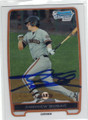 ANDREW SUSAC SAN FRANCISCO GIANTS AUTOGRAPHED ROOKIE BASEBALL CARD #110514Q