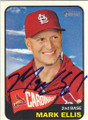 MARK ELLIS ST LOUIS CARDINALS AUTOGRAPHED BASEBALL CARD #110714C