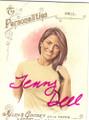 JENNY DELL AUTOGRAPHED CARD #110714E