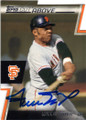 WILLIE MAYS SAN FRANCISCO GIANTS AUTOGRAPHED BASEBALL CARD #111714H