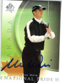 MIKE WEIR AUTOGRAPHED GOLF CARD #112014C